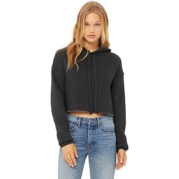 textil Dame Sweatshirts Bella + Canvas BE7502 Dark Grey Heather