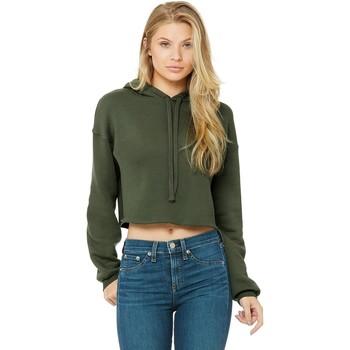 textil Dame Sweatshirts Bella + Canvas BE7502 Military Green