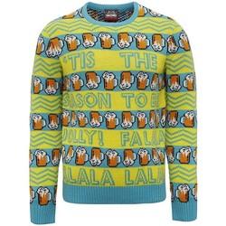 textil Herre Sweatshirts Christmas Shop CJ008 Yellow/Green
