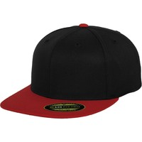 Accessories Kasketter Flexfit By Yupoong YP092 Black/Red