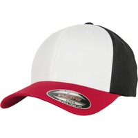 Accessories Kasketter Flexfit By Yupoong YP122 Red/White/Black