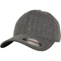 Accessories Kasketter Flexfit By Yupoong YP108 Black/Heather Grey