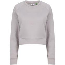 textil Dame Sweatshirts Tombo  Light Grey