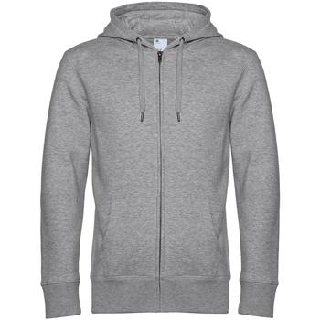 textil Herre Sweatshirts B&c  Grey Heather