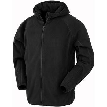 textil Herre Fleecetrøjer Result Genuine Recycled R906X Black