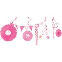 Indretning Klistermærker Amscan One Pack SG14453 Pink