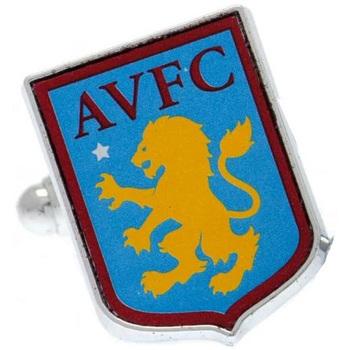 Ure & Smykker Herre Manchetknapper Aston Villa Fc  Multicoloured