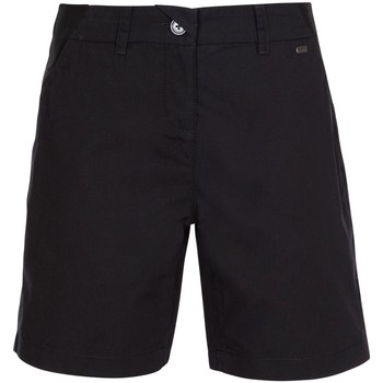 textil Dame Shorts Trespass  Black