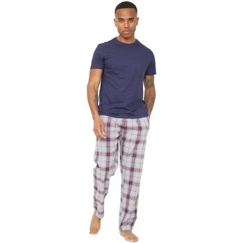 textil Herre Pyjamas / Natskjorte Unbranded  Navy