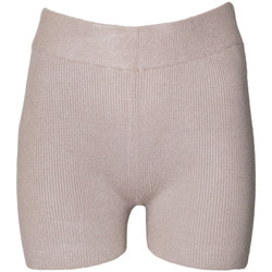 textil Dame Shorts Brave Soul  Taupe