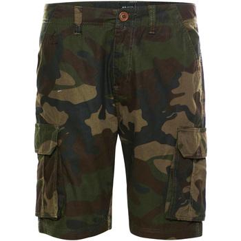 textil Herre Shorts Brave Soul  Khaki Camo