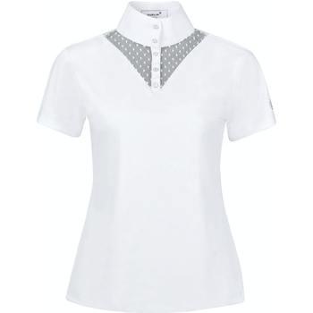 textil Dame T-shirts m. korte ærmer Dublin  White