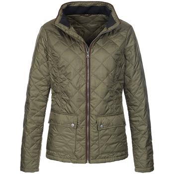 textil Dame Jakker Stedman  Military Green
