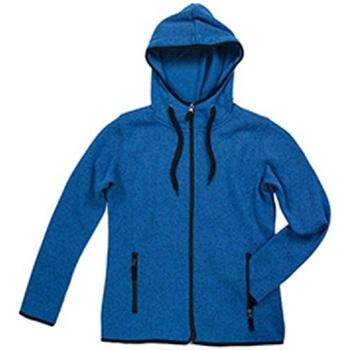 textil Dame Jakker Stedman  Blue Melange