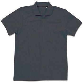 textil Herre Polo-t-shirts m. korte ærmer Stedman Stars  Black Opal