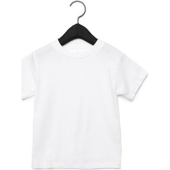 textil Børn T-shirts & poloer Bella + Canvas CA3001T White