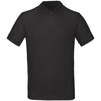 textil Herre Polo-t-shirts m. korte ærmer B And C PM430 Jet Black