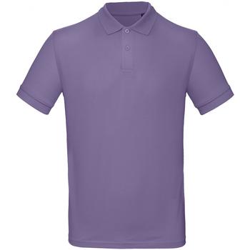 textil Herre Polo-t-shirts m. korte ærmer B And C PM430 Millennial Lilac