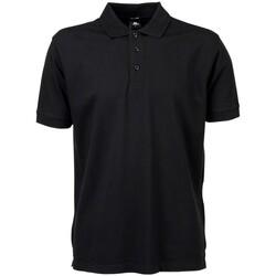 textil Herre Polo-t-shirts m. korte ærmer Tee Jays TJ7200 Black