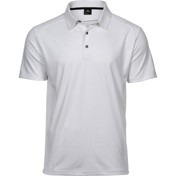 textil Herre Polo-t-shirts m. korte ærmer Tee Jays TJ7200 White