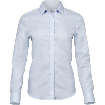 textil Dame Skjorter / Skjortebluser Tee Jays TJ4025 Light Blue