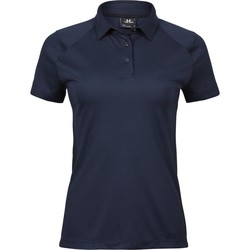 textil Dame Polo-t-shirts m. korte ærmer Tee Jays TJ7201 Navy Blue