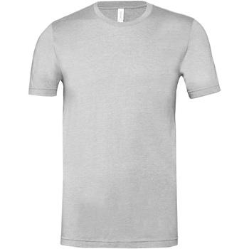 textil T-shirts m. korte ærmer Bella + Canvas CA3001CVC Grey Heather