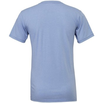 textil T-shirts & poloer Bella + Canvas CA3001CVC Blue Heather