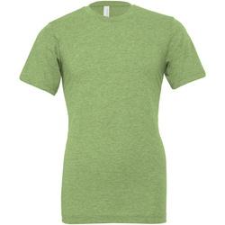 textil T-shirts & poloer Bella + Canvas CA3001CVC Green Heather