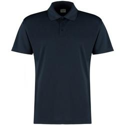 textil Herre Polo-t-shirts m. korte ærmer Kustom Kit KK455 Navy