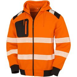 textil Herre Sweatshirts Result Genuine Recycled R503X Fluorescent Orange