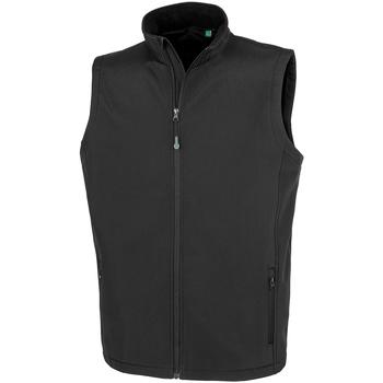 textil Herre Jakker Result Genuine Recycled R902M Black