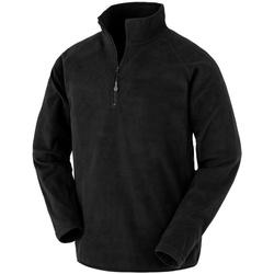 textil Herre Fleecetrøjer Result Genuine Recycled R905X Black