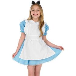 textil Pige Korte kjoler Bristol Novelty  Blue/White/Black