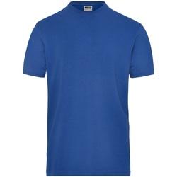 textil Herre T-shirts m. korte ærmer James And Nicholson  Royal
