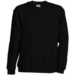 textil Sweatshirts James And Nicholson  Black