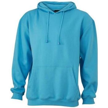textil Sweatshirts James And Nicholson  Sky Blue