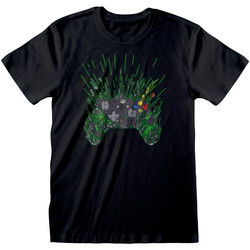 textil T-shirts m. korte ærmer Xbox  Black/Green