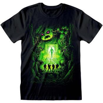textil T-shirts m. korte ærmer Ghostbusters  Black