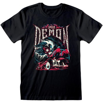 textil T-shirts m. korte ærmer 101 Dalmatians  Black