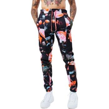 textil Herre Træningsbukser Hype  Black/Pink
