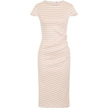 textil Dame Lange kjoler Girls On Film  Pink/White