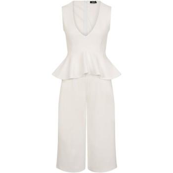 textil Dame Buksedragter / Overalls Girls On Film  White