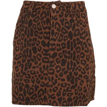 textil Dame Nederdele Girls On Film  Leopard Print