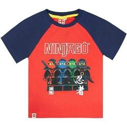 textil Dreng T-shirts m. korte ærmer Lego  Red