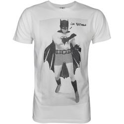 textil Herre T-shirts m. korte ærmer Junk Food  White/Black