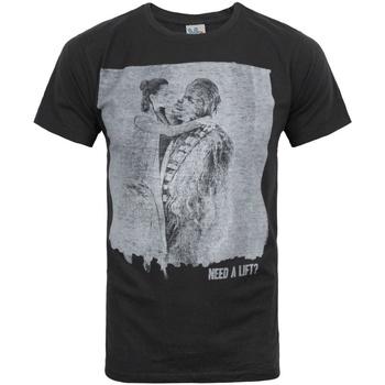 textil Herre T-shirts m. korte ærmer Junk Food  Black
