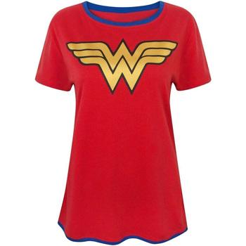 textil Dame T-shirts m. korte ærmer Wonder Woman  Red