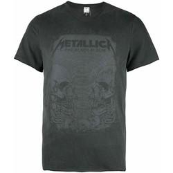 textil Herre T-shirts m. korte ærmer Amplified  Grey