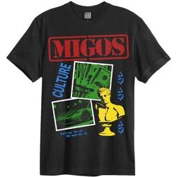 textil Herre T-shirts m. korte ærmer Amplified  Black